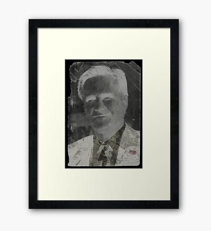 The Negative Candidate Framed Print