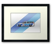 BTCC Volvo 850 TWR Wagon Race Car Framed Print