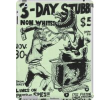 3 day stubble brave new world flyer iPad Case/Skin