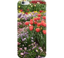 Tulips and Pansies (iPhone case) iPhone Case/Skin