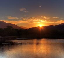 Lake Skinner Sunrise by Judylee