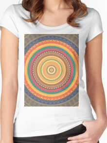 Regal Mandala Women's Fitted Scoop T-Shirt