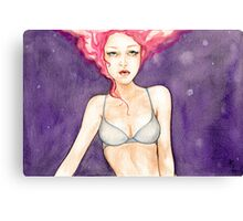 Bedroom Eyes- Classic-style Pin-up Canvas Print