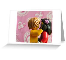 Lego in love Greeting Card