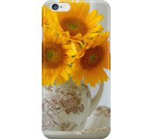 Sunflowers in Pitcher - iPhone Case iPhone Case/Skin