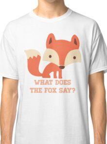 CARTOON FOX Classic T-Shirt