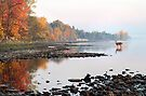 Fall Morning on the Ottawa River by Debbie Pinard
