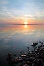 Sunrise on the Ottawa River, Dunrobin Ontario by Debbie Pinard