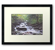 Water coming atcha Framed Print