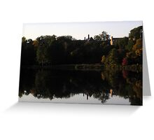 Beebe Lake In Autumn Greeting Card