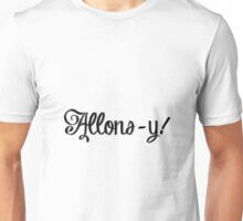 French Allons-y! 5 Unisex T-Shirt
