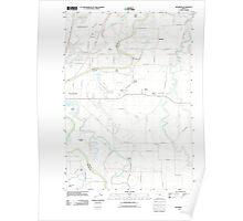 USGS Topo Map Oregon Riverside 20110831 TM Poster