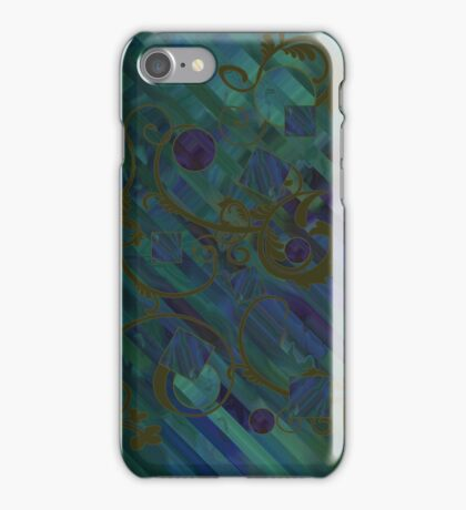Blue Transformations iPhone Case/Skin