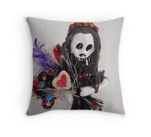 La Katrina 3 Throw Pillow