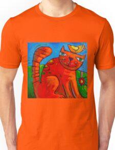 Ginger and the Lovebird 2 Unisex T-Shirt