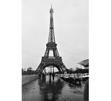 Eiffel Tower, Paris, Circa 1984 Photographic Print