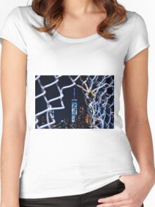 Keep Me From Cages Women's Fitted Scoop T-Shirt