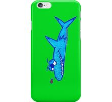 Sharky On Green: iPhone Case iPhone Case/Skin