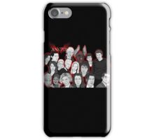 Angel character collage  iPhone Case/Skin