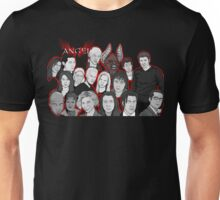 Angel character collage  Unisex T-Shirt