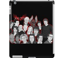 Angel character collage  iPad Case/Skin