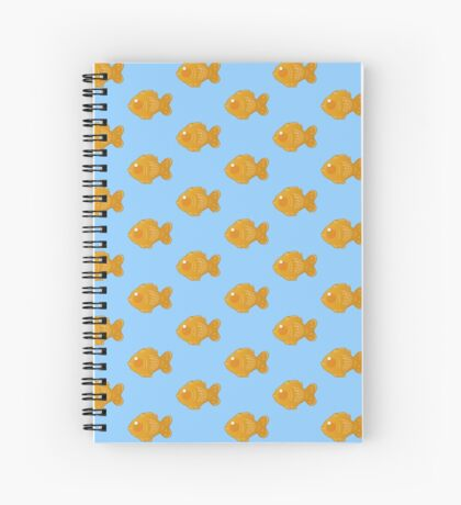Fish Pastry Spiral Notebook