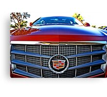Cadillac Car Canvas Print