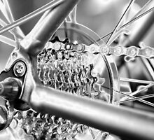 Gears in chrome by MarthaBurns