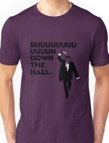"""Ruuuun down the hall"" Unisex T-Shirt"