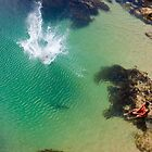 Big Drop in the ocean by Peter Smith