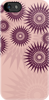 Sunburst Stars iPhone 4 Case by webgrrl