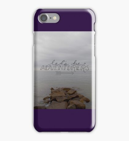 Let's Be Adventurers iPhone Case/Skin