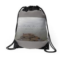 Let's Be Adventurers Drawstring Bag