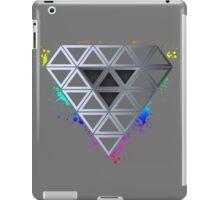 Rainbow Splash Diamond iPad Case/Skin