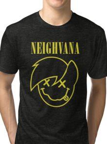 Neighvana (Derpy Hooves re-vector) Tri-blend T-Shirt