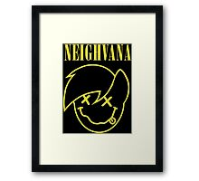 Neighvana (Derpy Hooves re-vector) Framed Print