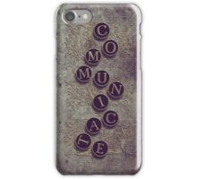 Communicate - iPhone case iPhone Case/Skin