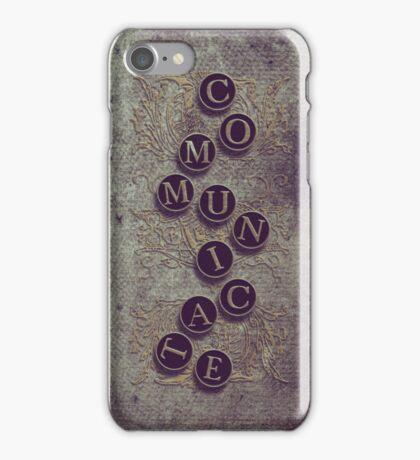 Communicate - iPhone case iPhone Case/Skin