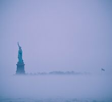 Liberty in the Fog  by Kaitlyn Mikayla
