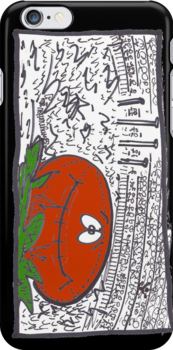 Gotta Love Footy: iPhone Case by Sammy Nuttall