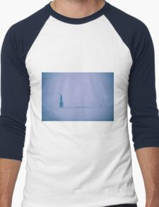 Liberty in the Fog  Men's Baseball ¾ T-Shirt
