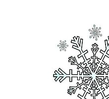 Minimalistic Snowflake Christmas by taiche