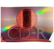 Compact disc Poster