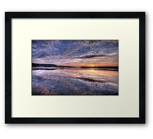 Pink Lace - Narrabeen Lakes, Sydney Australia - The HDR Experience Framed Print