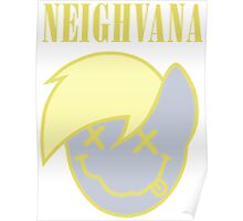 Neighvana Filled (Derpy Hooves re-vector) Poster