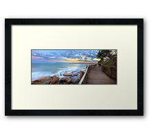 Boardwalk to Bullcock Beach Framed Print