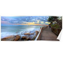 Boardwalk to Bullcock Beach Poster