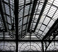 Glasgow Central Train Station - Windows Detail by MagsWilliamson