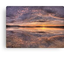 Pretty In Pink - Narrabeen Lakes, Sydney Australia - The HDR Experience Canvas Print
