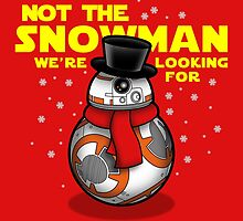 Not the snowman you're looking for by boggsnicolas